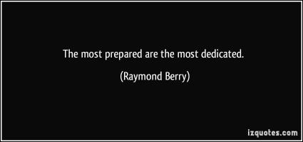 Raymond Berry's quote #1