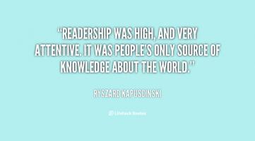 Readership quote #2