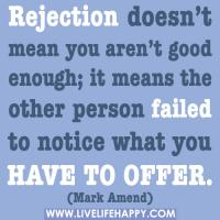 Rejecting quote #2