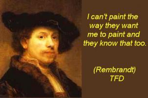 Rembrandt quote #2