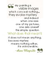 Rene Magritte's quote