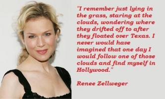 Renee Zellweger's quote