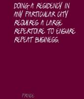 Residency quote #1