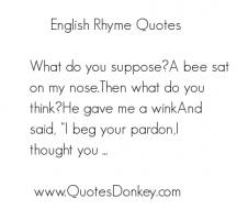 Rhyme quote #3