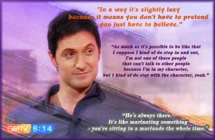 Richard Armitage's quote