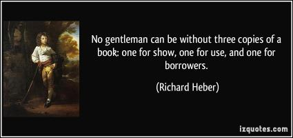 Richard Heber's quote #1