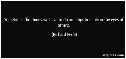 Richard Perle's quote