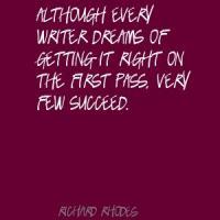 Richard Rhodes's quote