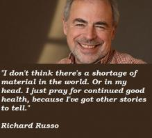 Richard Russo's quote