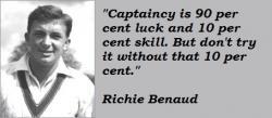 Richie Benaud's quote