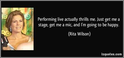 Rita Wilson's quote