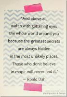 Roald Dahl's quote