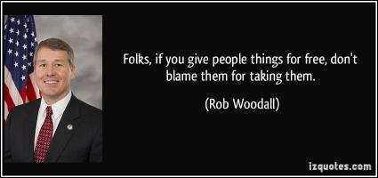 Rob Woodall's quote