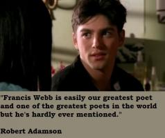 Robert Adamson's quote