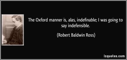 Robert Baldwin Ross's quote