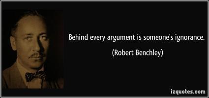 Robert Benchley's quote