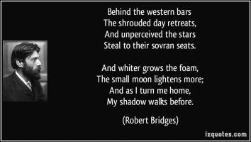 Robert Bridges's quote