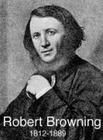 a biography of robert browning The poet robert browning is buried in poets' corner in westminster abbey he was born on 7th may 1812 in london, a son of robert browning (1782-1866).