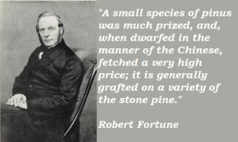 Robert Fortune's quote
