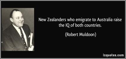 Robert Muldoon's quote #1
