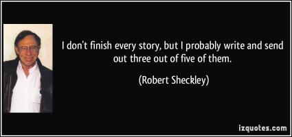 Robert Sheckley's quote
