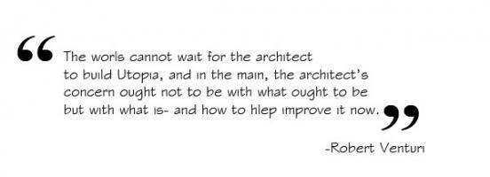 Robert Venturi's quote