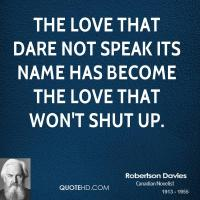 Robertson Davies's quote