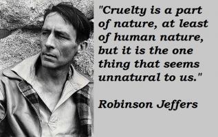 Robinson Jeffers's quote