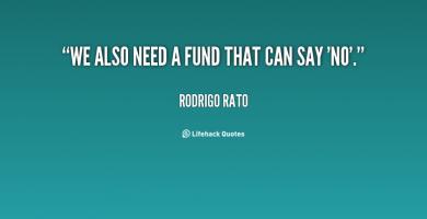 Rodrigo Rato's quote