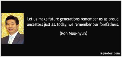 Roh Moo-hyun's quote