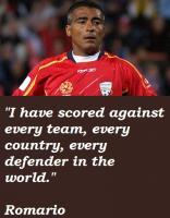 Romario's quote