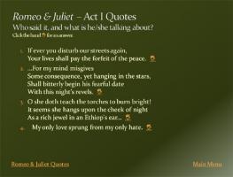 Romeo quote #1