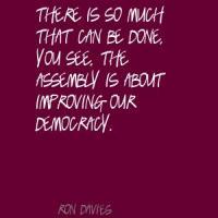 Ron Davies's quote