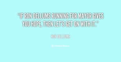 Ron Dellums's quote #2