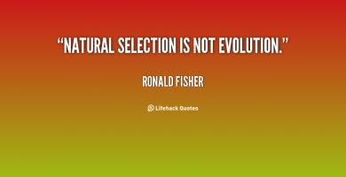 Ronald Fisher's quote