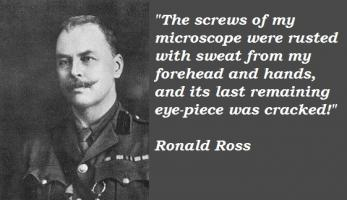 Ronald Ross's quote