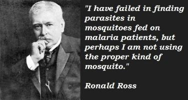Ronald Ross's quote #1