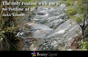 Routines quote #2