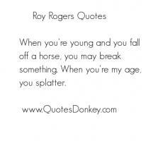 Roy Rogers's quote #5
