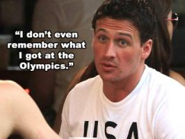 Ryan Lochte's quote