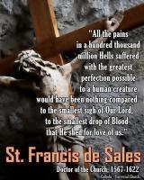 Saint Francis de Sales's quote