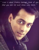 Salman Khan's quote