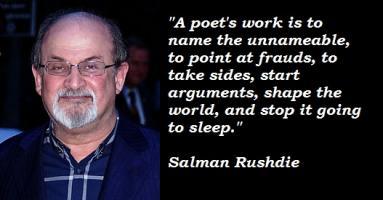 Salman Rushdie's quote
