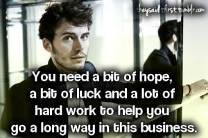 Sam Claflin's quote