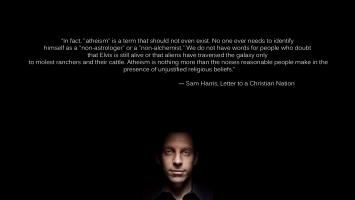 Sam Harris's quote