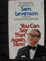 Sam Levenson profile photo