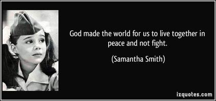 Samantha Smith's quote