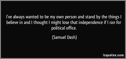 Samuel Dash's quote #4
