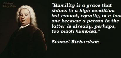 Samuel Richardson's quote