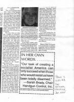 Sarah Brady's quote #4